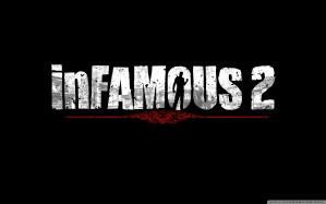 Infamous 2 Logo Wallpaper