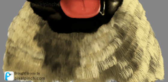 Body 2 Digital Art Dog Pug PixelPinch Digital Coloring Tutorial using Corel Painter & Tablet
