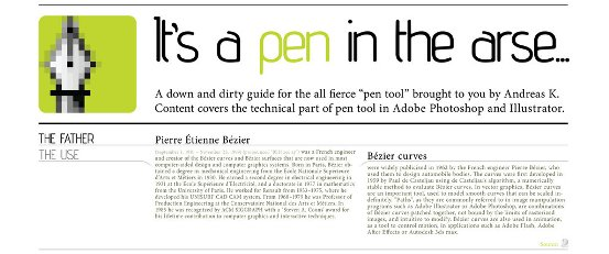 its a pen in the arse by inde graphics How To Use Pen Tool on Adobe Photoshop & Illustrator