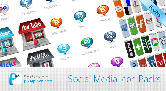 Social Media Icon Packs