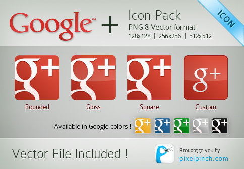 New Red Google Plus or Page Vector Icon Pack New Red Google Plus or Page Vector Icon Pack For Free