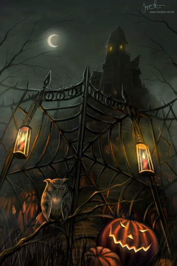 Halloween Gate by *jerry8448