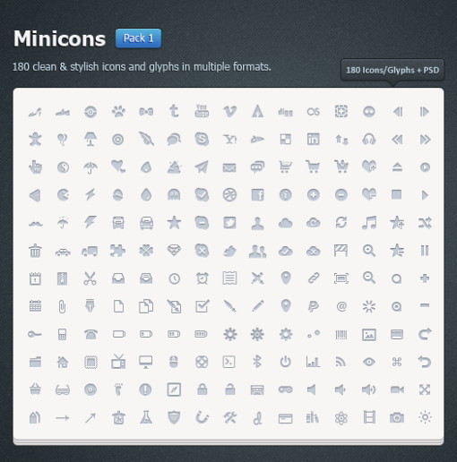 minicons pack 1 by okidoci d4bzma6 Fresh & Best Icon Collection Of The Month October #3