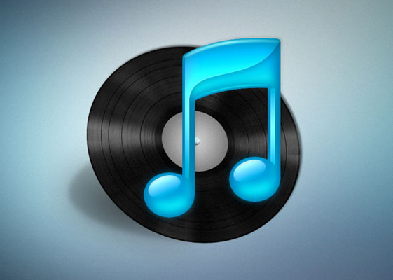 itunes vinyl icon by vma5 Fresh & Best Icon Collection Of The Month May#5