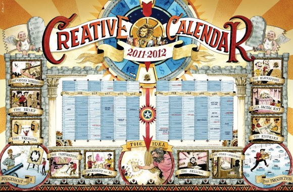 creative calendar 1 1024x674 Top Print Advertisements of 2011 Half Yearly, Part 2