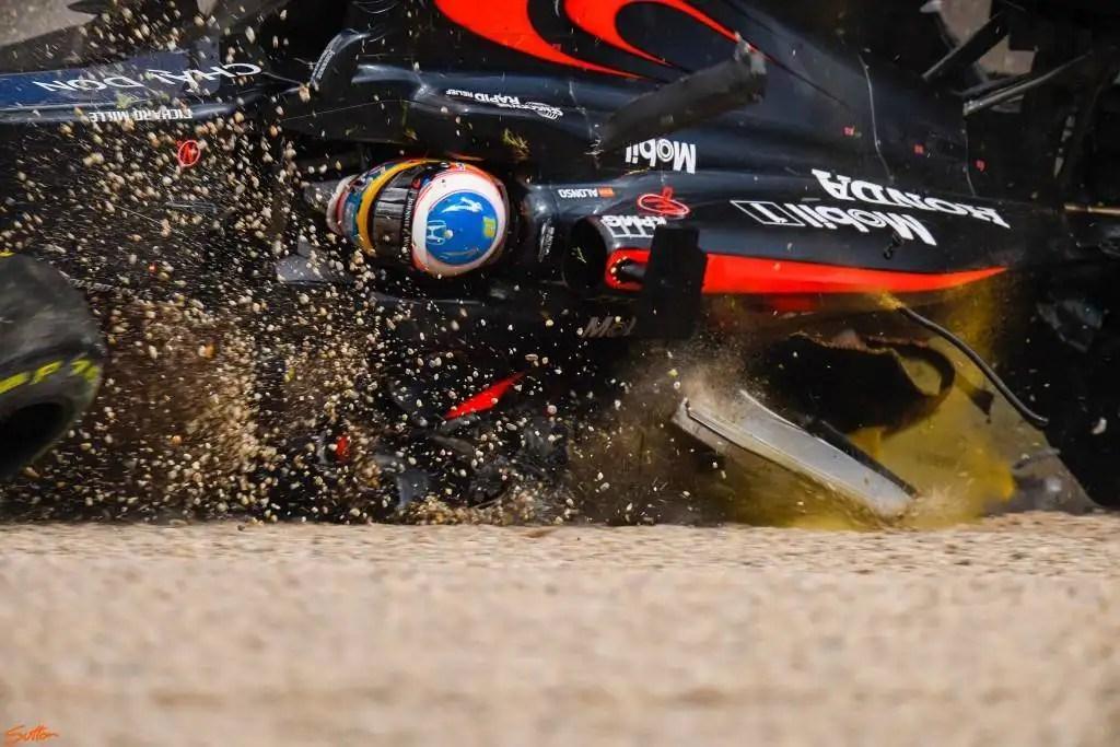 Nikon D5 Captured F1 Crash in Amazing Details
