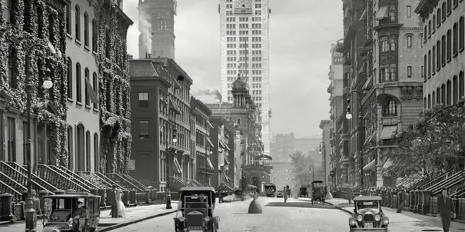 Animated Old Photos of US Cities Takes You On Time Travel