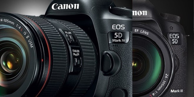 Canon 5D Mark IV vs Canon 5D Mark III Comparison