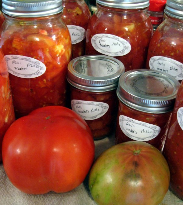 Canning recipes and preserving techniques