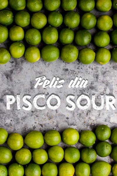 Pisco Sour: Un pequeño homenaje en su día