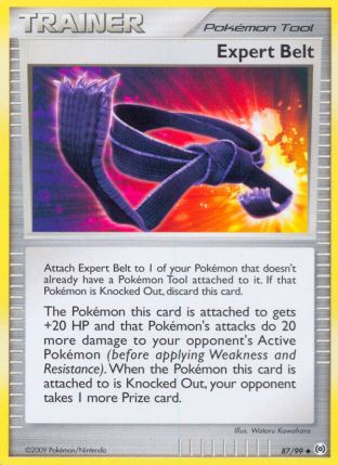 Expert Belt from Arceus