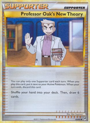 Professor Oak's New Theory from Call of Legends