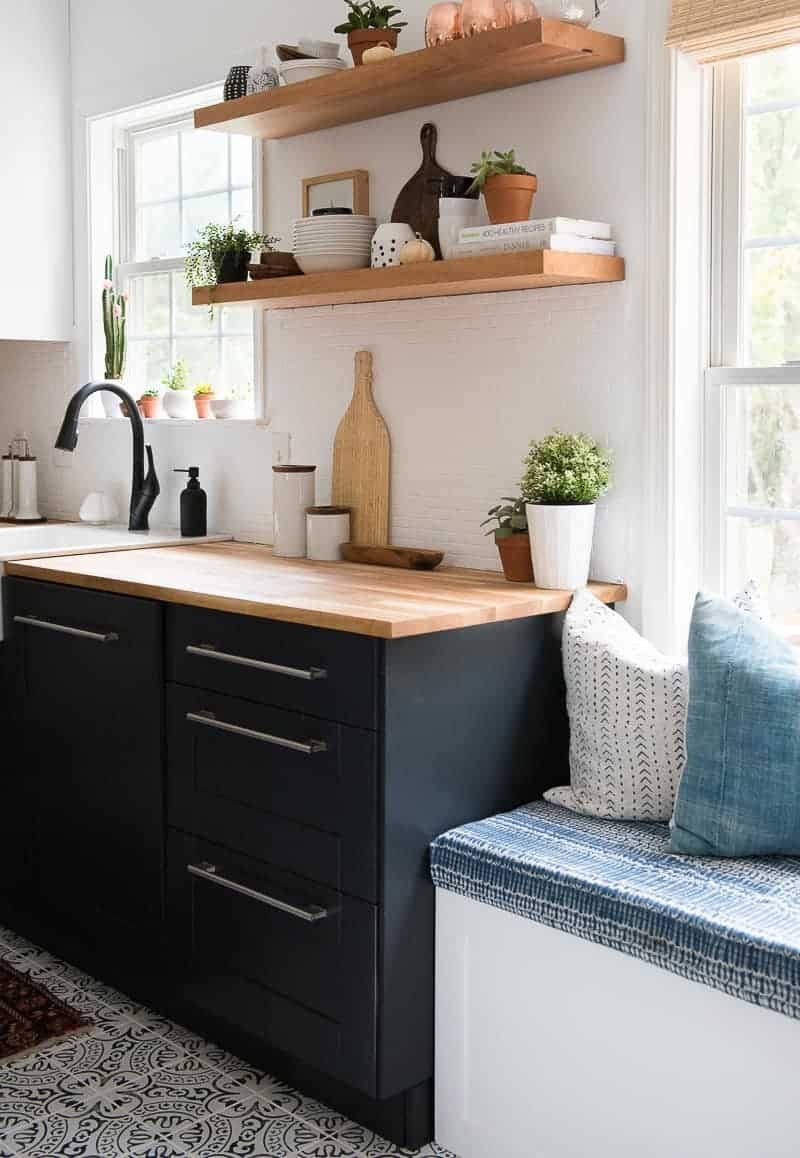 Encouragement Re Will Be Lots I Know That My Family Will Be Enjoying This Kitchen Throughout Holidays My Taste Kitchen Revamp Kitchen Place houzz 01 Two Toned Kitchen Cabinets