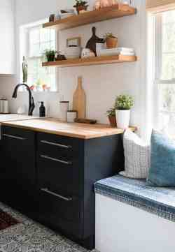 Small Of Two Toned Kitchen Cabinets