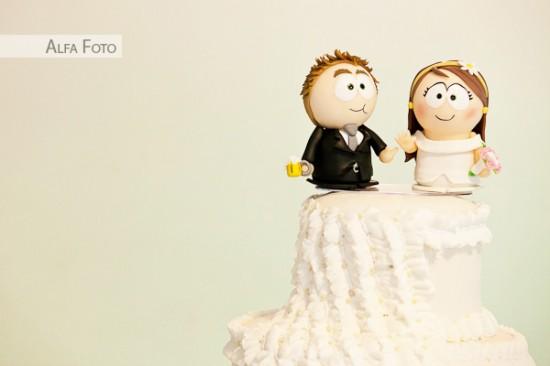 Noivinhos de topo de bolo South Park. Foto: Alfa Foto.