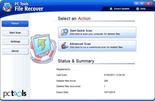 PC Tools File Recover 7.5