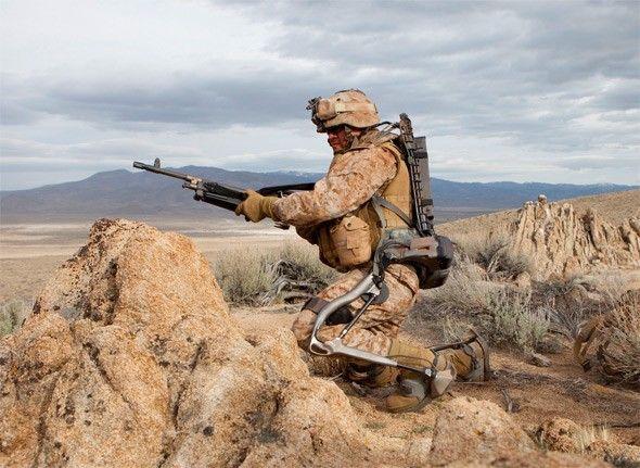 Soldado equipado con Hulc