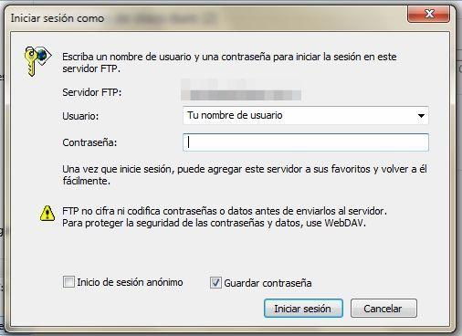 Conectar a servidor FTP