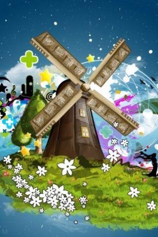 colorful windmill - 100 fondos de pantalla para Android y iPhone - Planeta Red