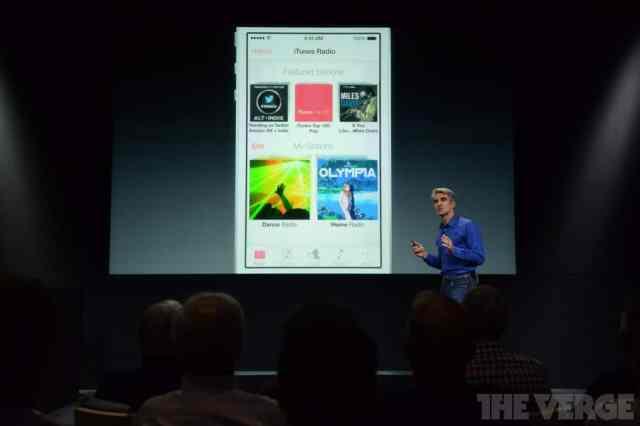 iRadio en iOS 7