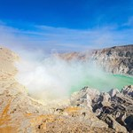 The Ijen volcano is a stratovolcano in the Banyuwangi Regency of East Java, Indonesia