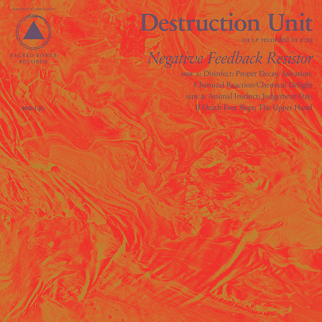 DESTRUCTION UNIT – Negative Feedback Resistor