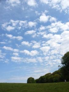 I think it's called blue sky thinking?