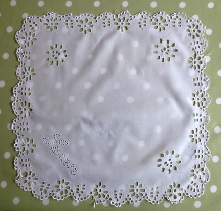 cutwork cloth