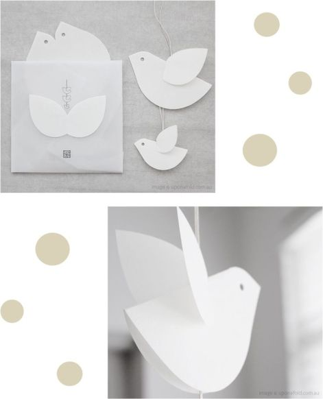 paper birds Christmas Countdown