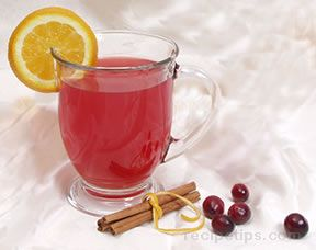 Cranberry tea Christmas Countdown