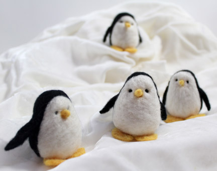 needlefelt penguins