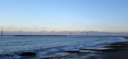 Autumn on the Norfolk coast