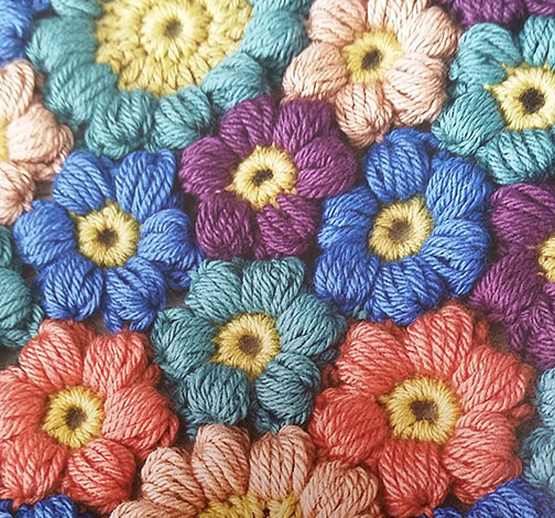 friendship flowers - Crochet Therapy