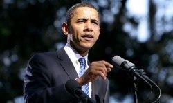 obama hablando ante microfono