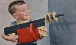kid with toy gun