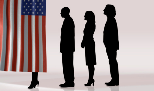 voters flag