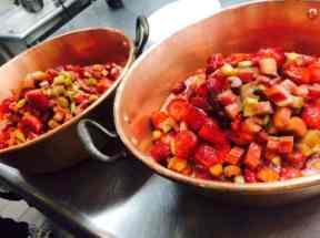 Jammin Crepes strawberries