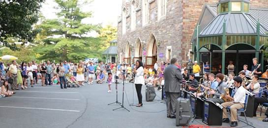 The McCarter Theatre Block Party includes live music, food and more.
