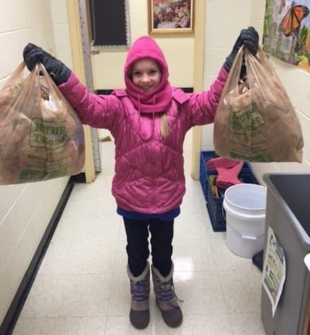 Trek & Johanna Littlebrook recycling