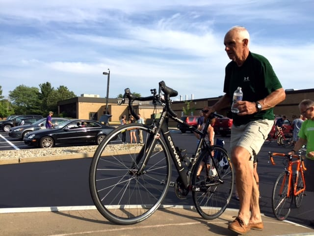 Ken Sharples, 77, will be completing his 28th Ride for Runaways next week.