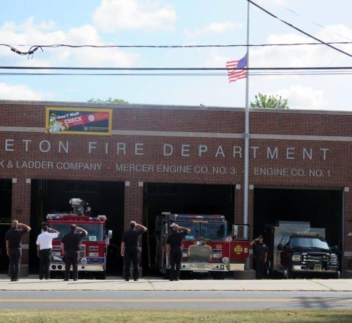 9/11 service Princeton Firefighters