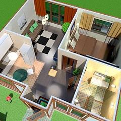 Home Design Software & Interior Design Tool ONLINE for home & floor plans in 2D & 3D - Planner 5D