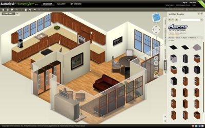 Programa para hacer planos de casas en 3D y 2D