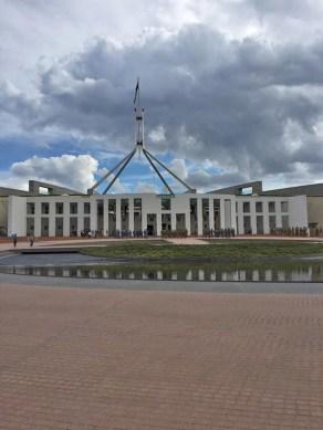 Australia's current Parliament building.