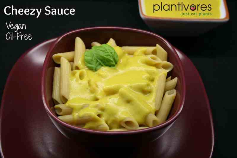 Cheezy Sauce (Vegan oil-free cheese, non-dairy cheese)