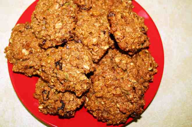 Cherry Pecan Trail Mix Cookies 2