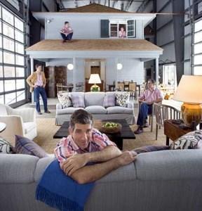 Adam Kalkin in his Bunny Lane home