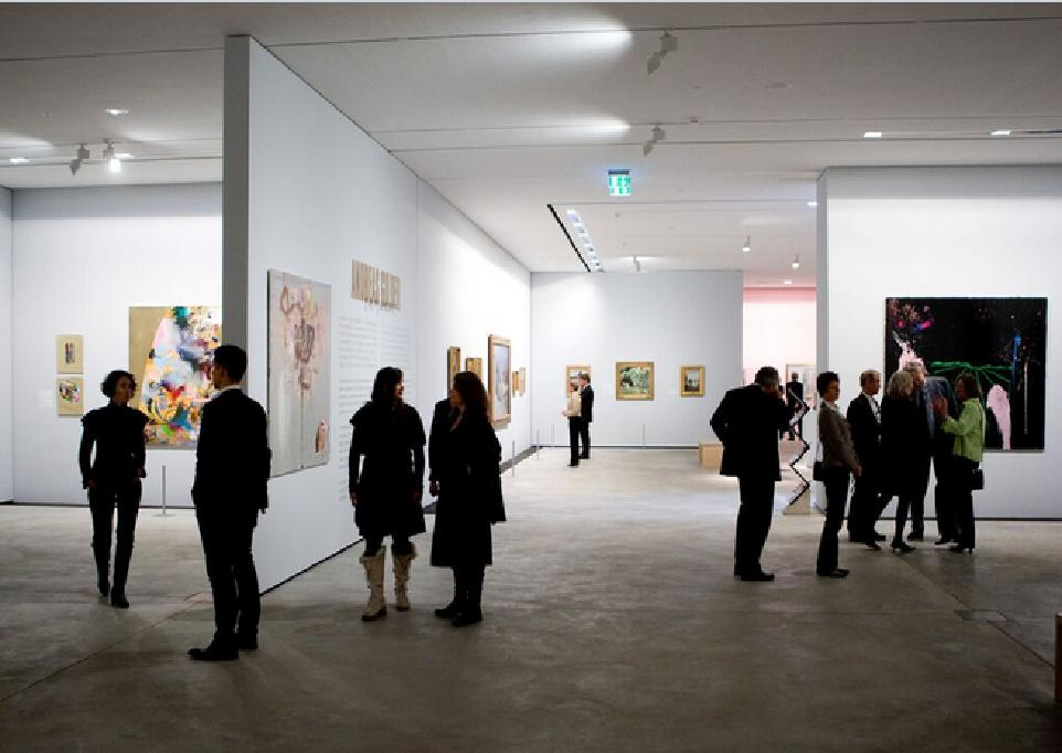 ARKENs exhibition space, 2008. Photo Lars Skaaning