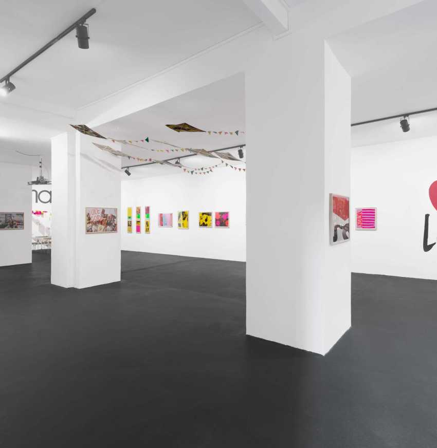 2__Sister_Corita_Let_The_Sun_Shine_In_-_A_Retrospective_2014_installation_view_Circle_Culture_Gallery_Berlin_Courtesy_of_Circle_Culture_Gallery_photo_Uwe_Walter