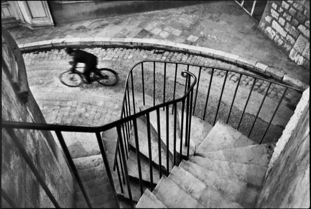 Bicycle, 1932, Henri Cartier-Bresson © Image Courtasy of Magnum Photos